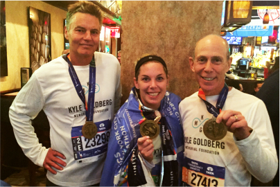 Foundation Raises $10,000 During Run-Up To NYC Marathon