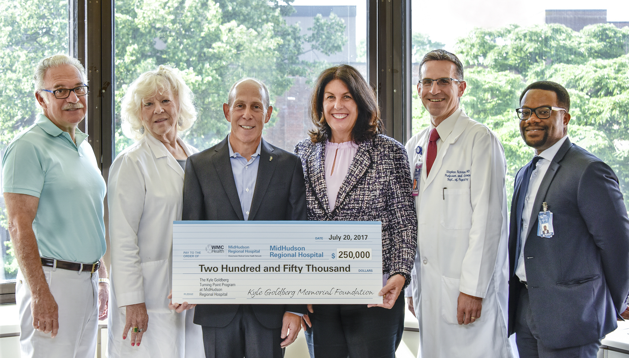 Foundation Announces Donation For Renaming of Mid Hudson Treatment Center
